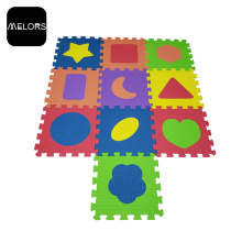 Tappetino puzzle colorato EVA Foam Shape Kid Play