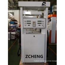 Zcheng Blanco Color de la estación de llenado Doble dos inyector de la bomba