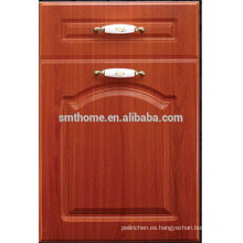 Puerta de armario de cocina de membrana de MDF