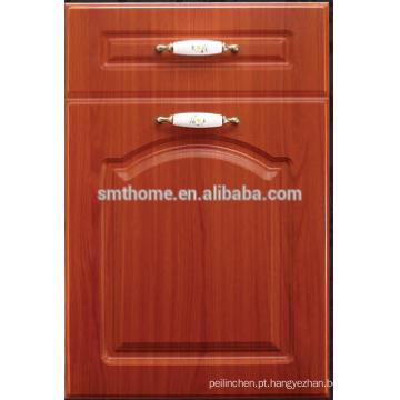 Porta do armário de cozinha da membrana do MDF