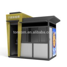 Kiosco de información BKT-9A con publicidad