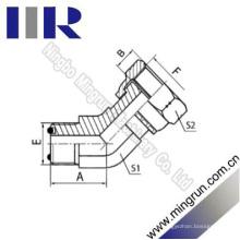 45 Elbow Orfs Male O-Ring / Orfs Buchse Hydraulikadapter (2F4)