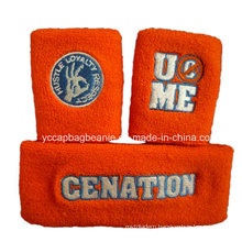 Promotional Terry Cotton Headband, Terry Wristband