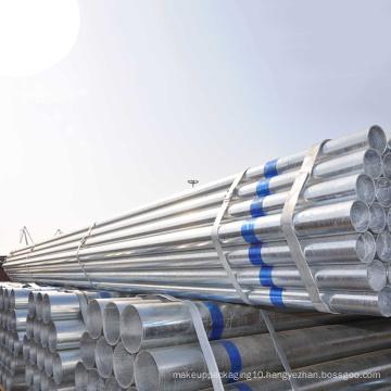 Galvanized steel pipe tube CHS GI steel tube building materials