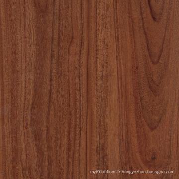 Plancher de PVC de LVT Click de luxe qui respecte l'environnement
