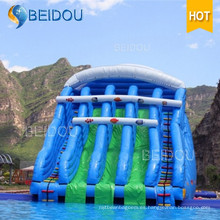 Los niños baratos populares embroma la diapositiva de agua inflable gigante para la venta