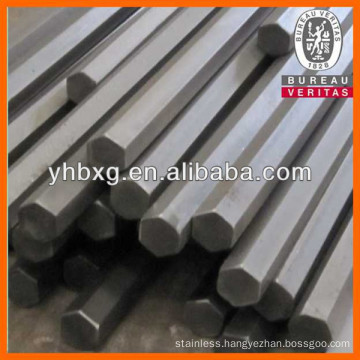 Top quality bright annealed stainless hex rod