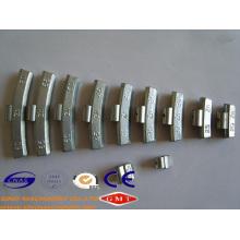 Clip on Zinc Wheel Balance Weight