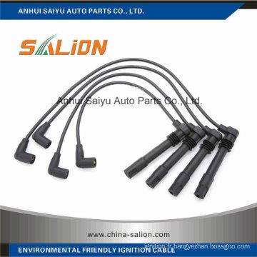 Câble d'allumage / fil d'allumage pour VW Bora Abm68