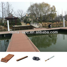 Eco-friend waterproof outdoor wpc deck