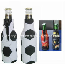 Fashion Heat Transfer Printing Neoprene Bottle Holder, Neoprene Bottle Cooler, Stubby Beer Holder