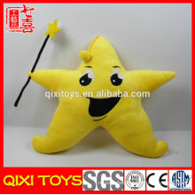 Wholesale yellow star plush pillow star doll plush toy dolls