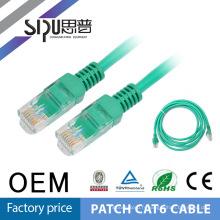 SIPU gratuits échantillon usine prix 24AWG UTP CAT6 câble réseau LAN Ethernet câble Cat6 Patch Cord 2m 3m 5m
