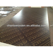 Linyi WBP(melamine glue)18mm brown film faced plywood