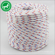 High wear resistance 3 strand PP danline rope for marine