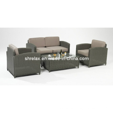 Patio Wicker Lounge Sofa Set Rattan Outdoor Garden Furniture