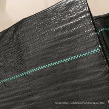 Черный водонепроницаемый пластиковый почвопокровные для парника