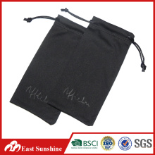 Logo promotionnel pour estampage à chaud Microfibres Sacoche pour lunettes de soleil
