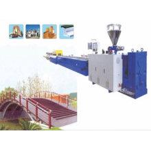 Máquina de fabricación de perfiles de PVC WPC