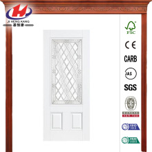 Rectangle Primed Steel Prehung Front Door