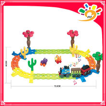 2014 HOT SELLING PRODUCTS! 2188 ELECTRIC TRACK VEHICLES thomas Track Rail Car With light and music track block toys