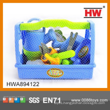 High Quality Plastic Pretend Play Kids Garden Tools