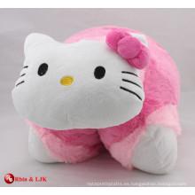 Cojín encantador promocional del gato del juguete de la felpa de la promoción