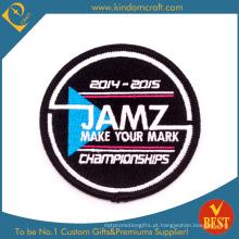 Jamz feito sob encomenda faça seu remendo do bordado do campeonato da marca (LN-0160)