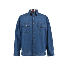 Soft Feel Coaling Pekerja Denim Jacket