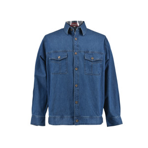 Soft Feel Coaling Workers Denim Jacket