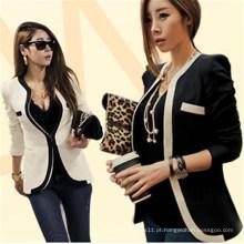 Estilo coreano Moda Slim Fitting Mulheres Business Suit (50175)