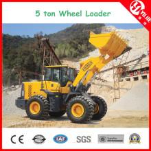 Hohe Leistungsfähigkeit Zl50 5 Tonnen-Radlader mit Gabel (5000kg)