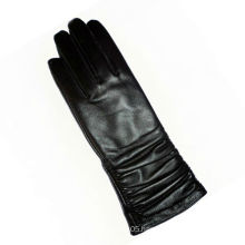 2016 promotional products tight long leather gloves