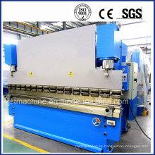 Máquina de doblado hidráulica del acero de carbón (WC67Y-160T 3200)