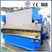 Máquina de dobra hidráulica do aço de carbono (WC67Y-160T 3200)
