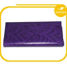 Tela africana Super Ghalila Jacquard Textiles de algodón Telas suaves Vestidos FEITEX Bazin Riche