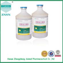 Chinesische traditionelle Medizin GMP Shuanghuanglian Mundflüssigkeit für Geflügel