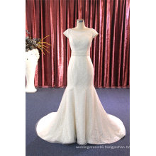 Fashion Lace Mermaid Beading Wedding Dress Formal Dress