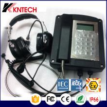 Explosionsgeschütztes SMC-Telefon Knex1 IP66 Iecex Zertifikat-Beweis