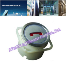 Thyssen Elevator Buttons Lift Spare Parts Stainless Steel Round Shape ThyssenKrupp Push Call Button