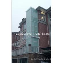 OTSE elevador de casa pequena para 320kg 4 pessoa