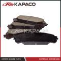 Ensemble de plaquettes de frein pour Toyota Highlander Sienna Lexus RX350 RX450h D1324 04465-OE010