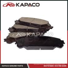 Conjunto de almofadas de freio para Toyota Highlander Sienna Lexus RX350 RX450h D1324 04465-OE010