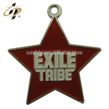 Free design sample stars zinc alloy enamel metal charm and pendant