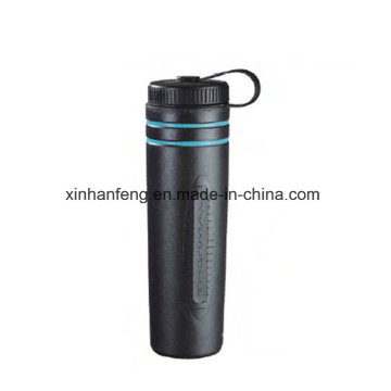 Botella de agua al aire libre de la bicicleta inoxidable (HBT-029)