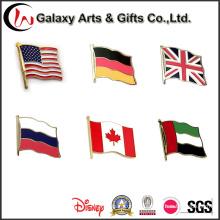 Pin de lapela de bandeira nacional