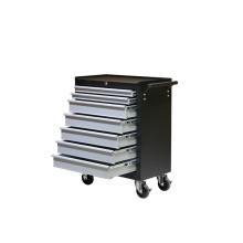 Металлический ящик для инструментов DIY Шкаф для инструментов с колесами