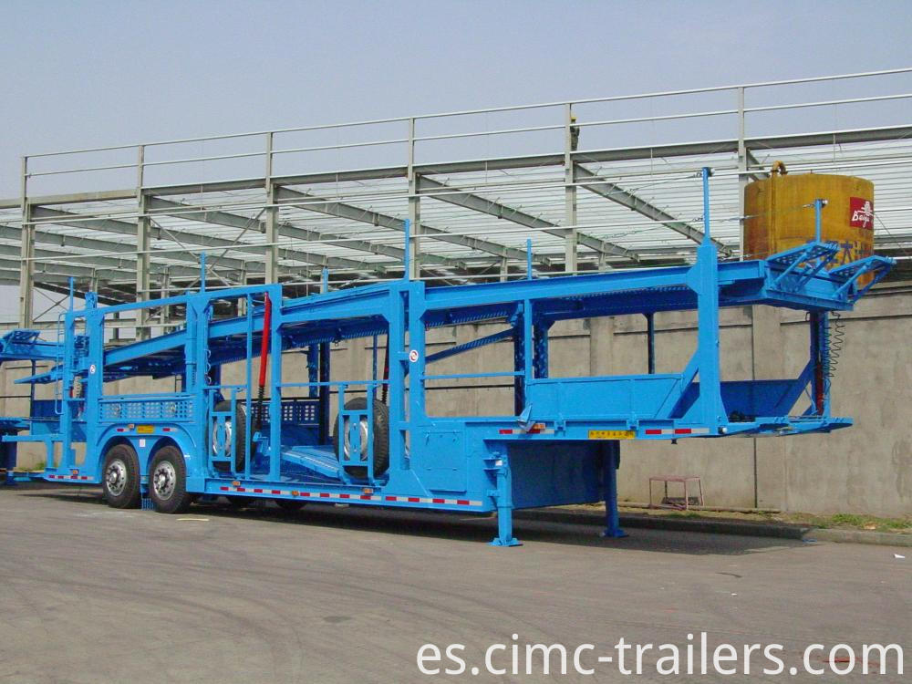 Rf Car Carrier Semi Trailer