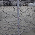 Zn-Al/Galfan or Galvanized wire hex Gabion Baskets