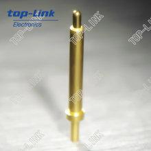 Pin de latão (pino de contato de latão, conector pogo pin)